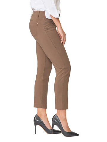 Five Pocket Stretch Straight Leg Ankle Pants