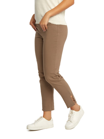 Ladder Trim Ankle Pants