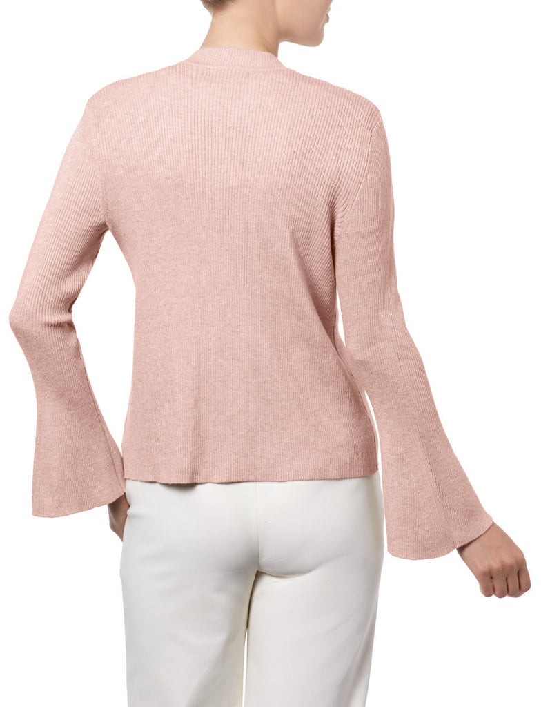 Bell Sleeve Open Front Cardigan