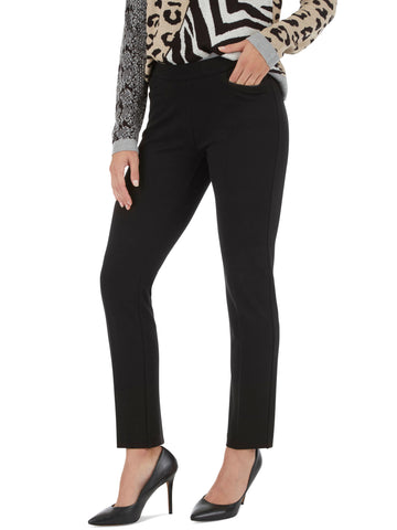 Zipper Trim Tapered Leg Pants