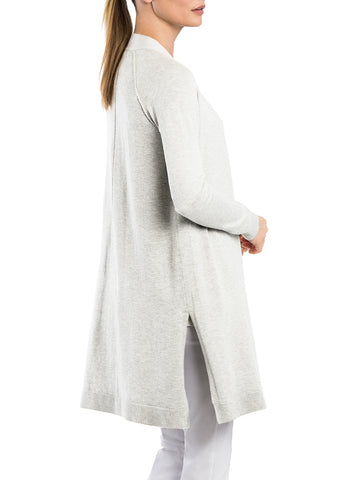 Notch Hem Duster Cardigan