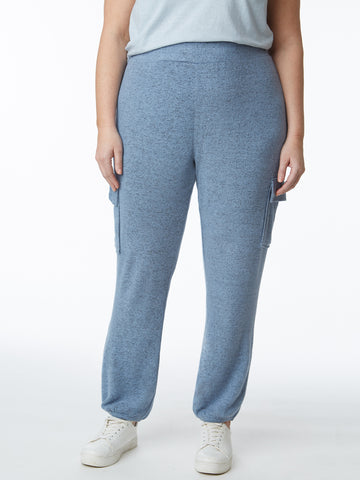 Plus Hacci Pull-On Comfort Cargo Pant