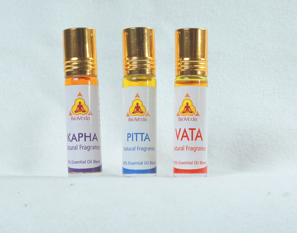 Bio Veda Vata Pitta Kapha Natural Essential Oil Fragrances