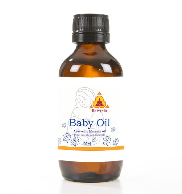 Bio Veda Baby Massage Oil - Ayurvedic Products