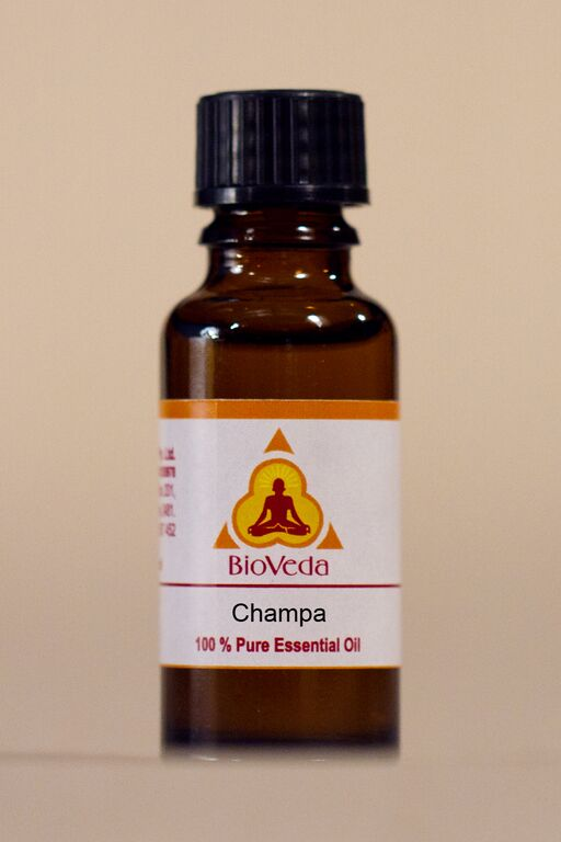 Bio Veda Champa Essential Oil from India with Exquisite Fragrance - Ayurvedic Products
