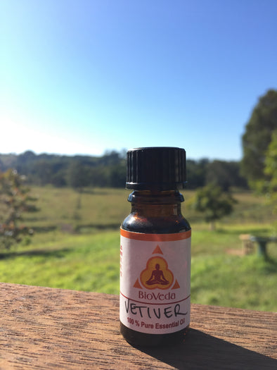 Bio Veda Vetiver Essential Oil - Ayurvedic Products