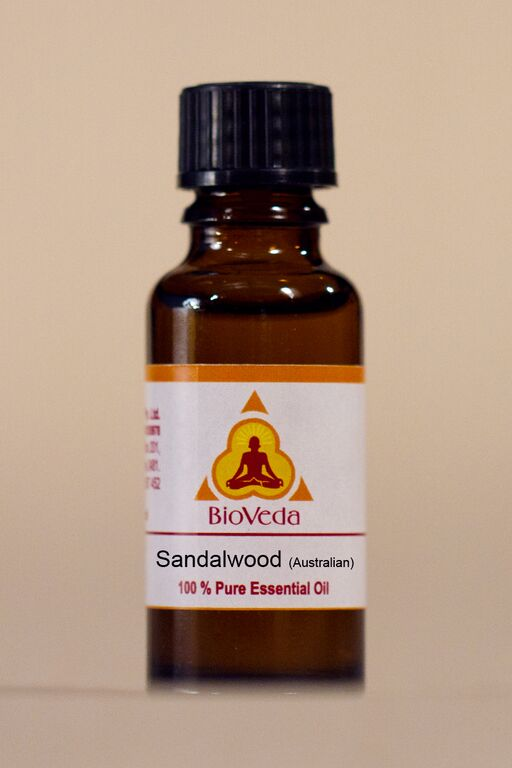 Bio Veda Australian Sandalwood Essential Oil, Organic - Ayurvedic Products
