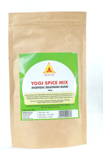 Yogi Spice Mix - Ayurvedic Seasoning Blend