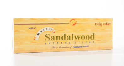 Sandalwood Masala Incense - Bio Veda Ayurvedic Products
