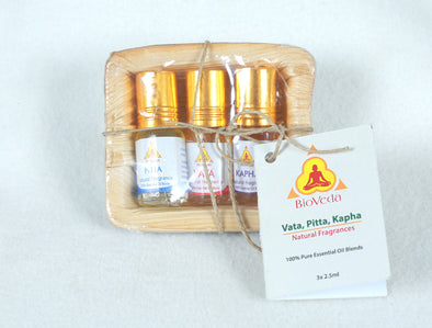 Bio Veda Vata Pitta Kapha Essential Oil Fragrances