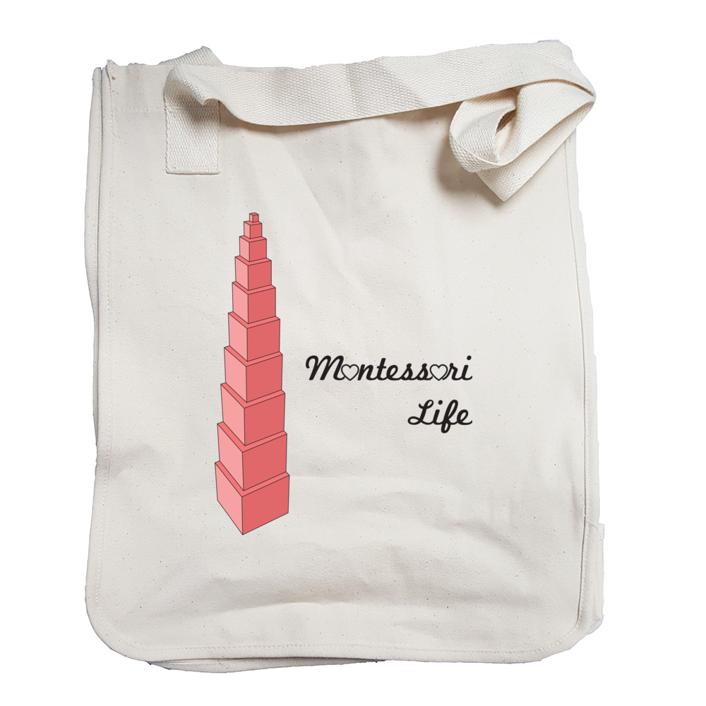 Montessori Life Tote Bag