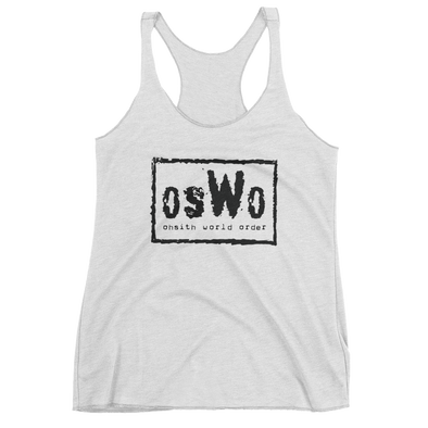 OhSith World Order Women's Racerback Tank