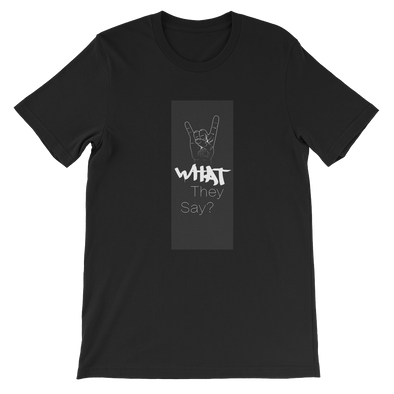 "OhSith ""What They Say?"" Too Sweet Short-Sleeve Unisex T-Shirt"