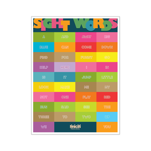 Sight Words Poster