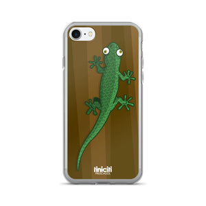 Lizard on the tree - iPhone 7/7 Plus Case
