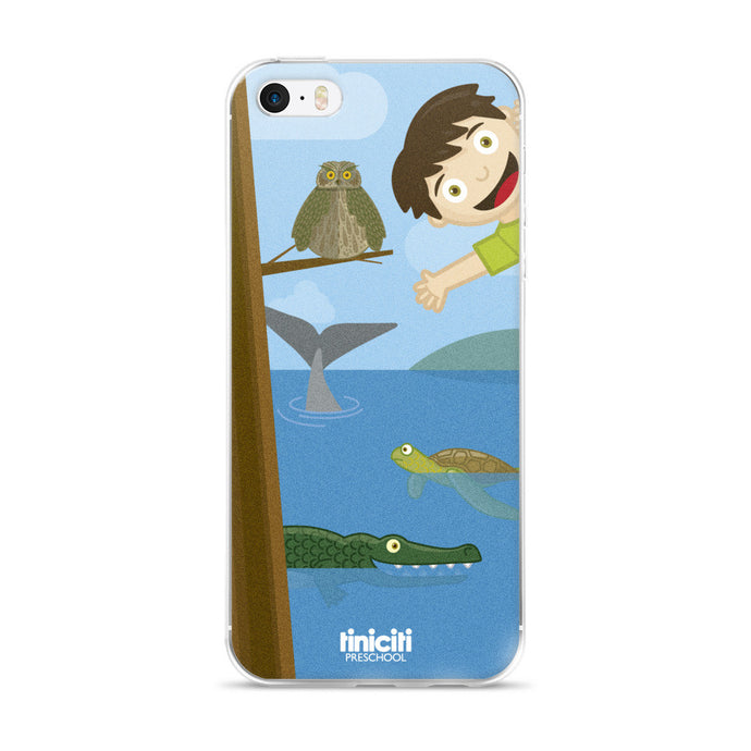 Andy in the Jungle - iPhone 5/5s/Se, 6/6s, 6/6s Plus Case