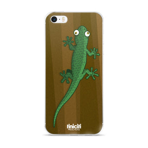 Lizard on the tree - iPhone 5/5s/Se, 6/6s, 6/6s Plus Case