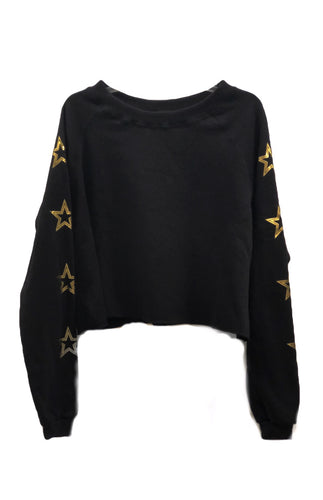 Star Crop Swearshirt
