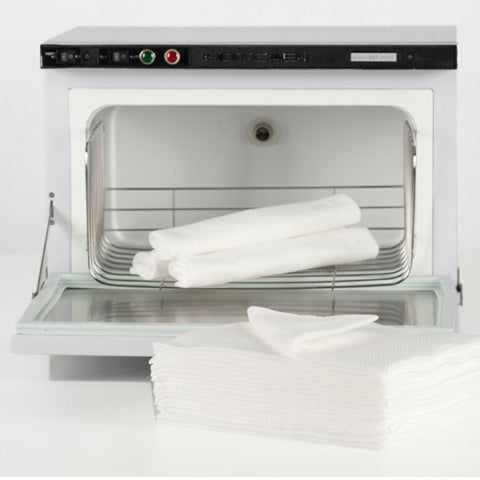 White Embossed Towels (Pack of 50, Box of 600 & 1200)