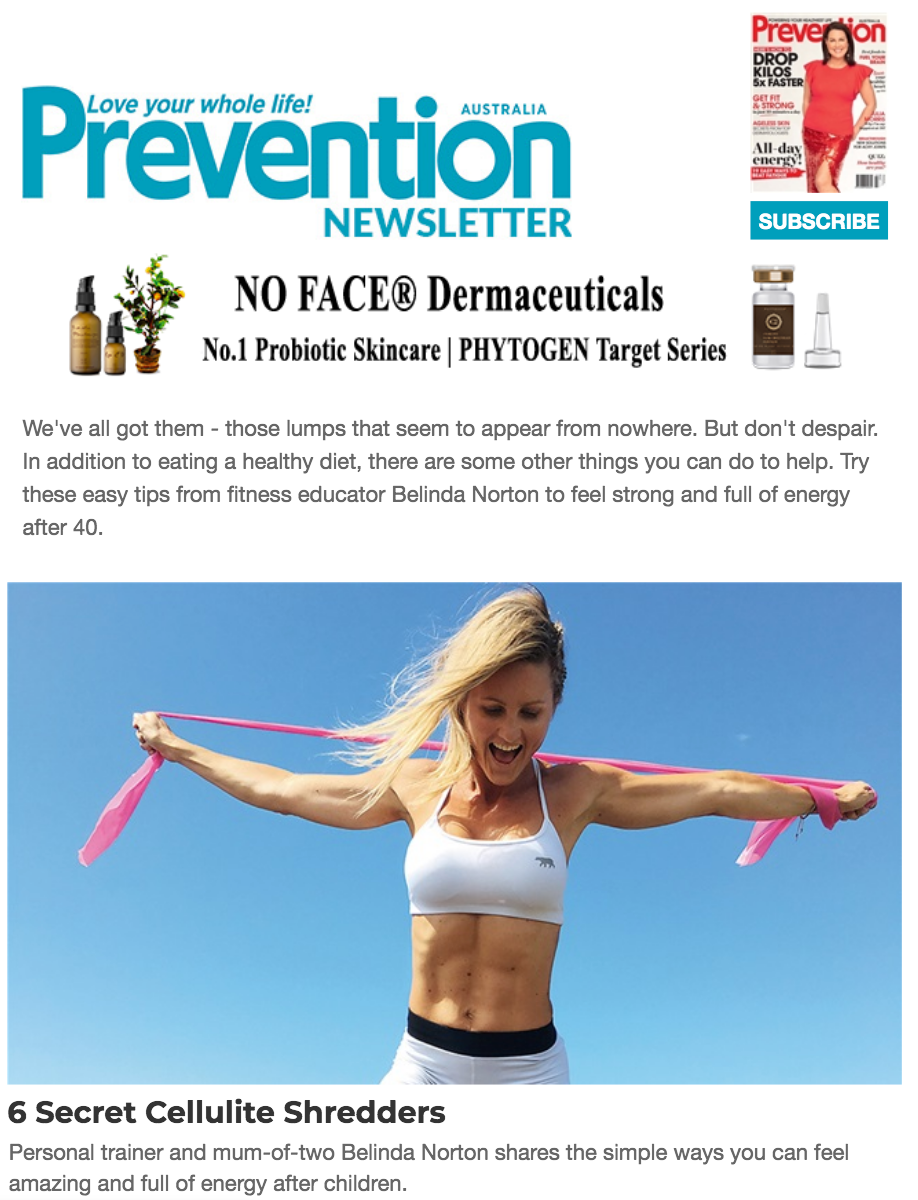 prevention magazine australia no face dermaceuticals skincare