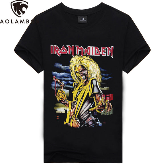 Iron Maiden Rock Band 3D Printed T-Shirt - Toyz For The Boyz,  - Man Cave Gear,