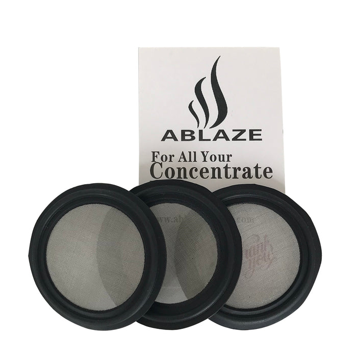 "ABLAZE 3-Pack 1.5"" Viton Sanitary Gasket (With 100 Mesh Screen)"