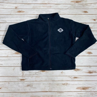 Navy Fleece Full Zip Jacket