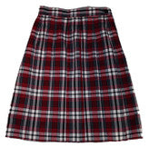 I.C.C.S Plaid Skirt; Required Item for 4th-8th Grade Girl