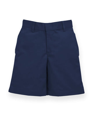 Navy Cotton Short - Boy's
