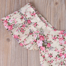 Adorable baby girls floral romper