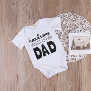 Handsome Just Like Dad Onesie