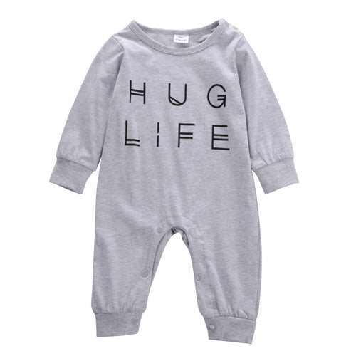 Hug Life Long-Sleeve Soft Jumpsuit for Baby