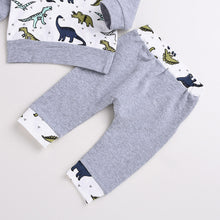 Hooded Dinosaur Top and Pants Set