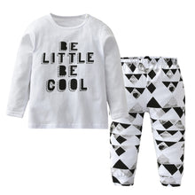 Be Little Be Cool - Stylish Long Sleeve Two-piece Outfit