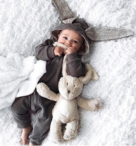 Adorable Warm Bunny Jumpsuit