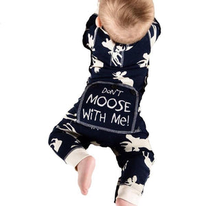 Don't Moose With Me! - Winter Romper