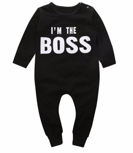 I'm The Boss - Long Sleeve