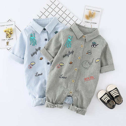 Jumpsuit - Adorable Classy Little Romper For Baby Boy