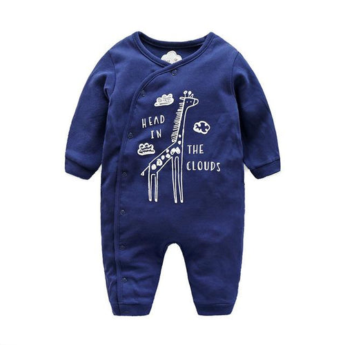 Jumpsuit - Adorable Giraffe Jumpsuit For Baby Boys