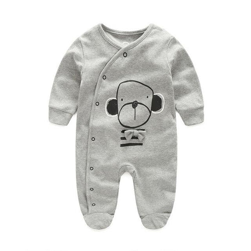 Jumpsuit - Cute Dog Baby Jumpsuit