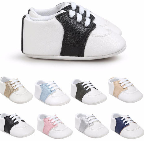 Two-Toned Baby Sneakers