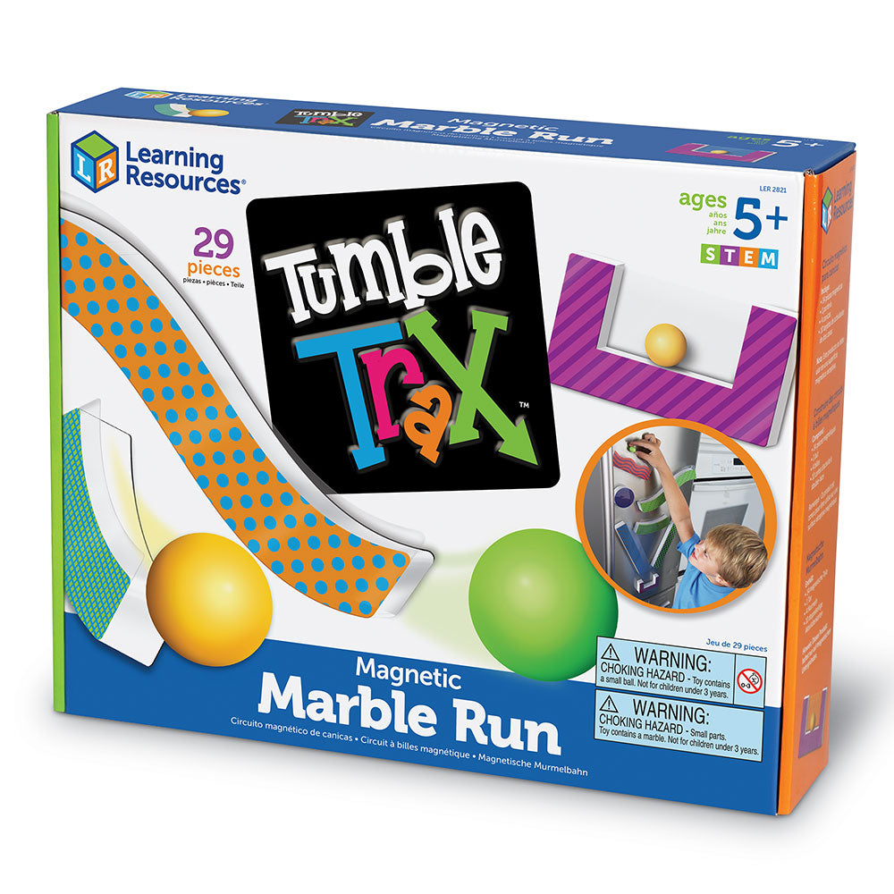 Tumble Trax - Magnetic Marble Run