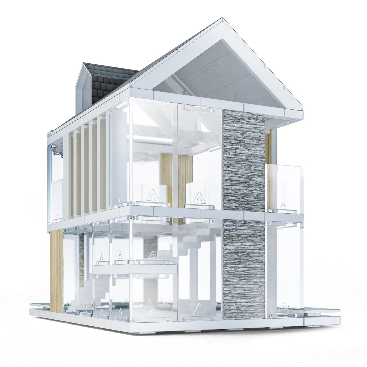 The Award Winning Architecture Firm Building Quick Modular Homes: Architectural Model System