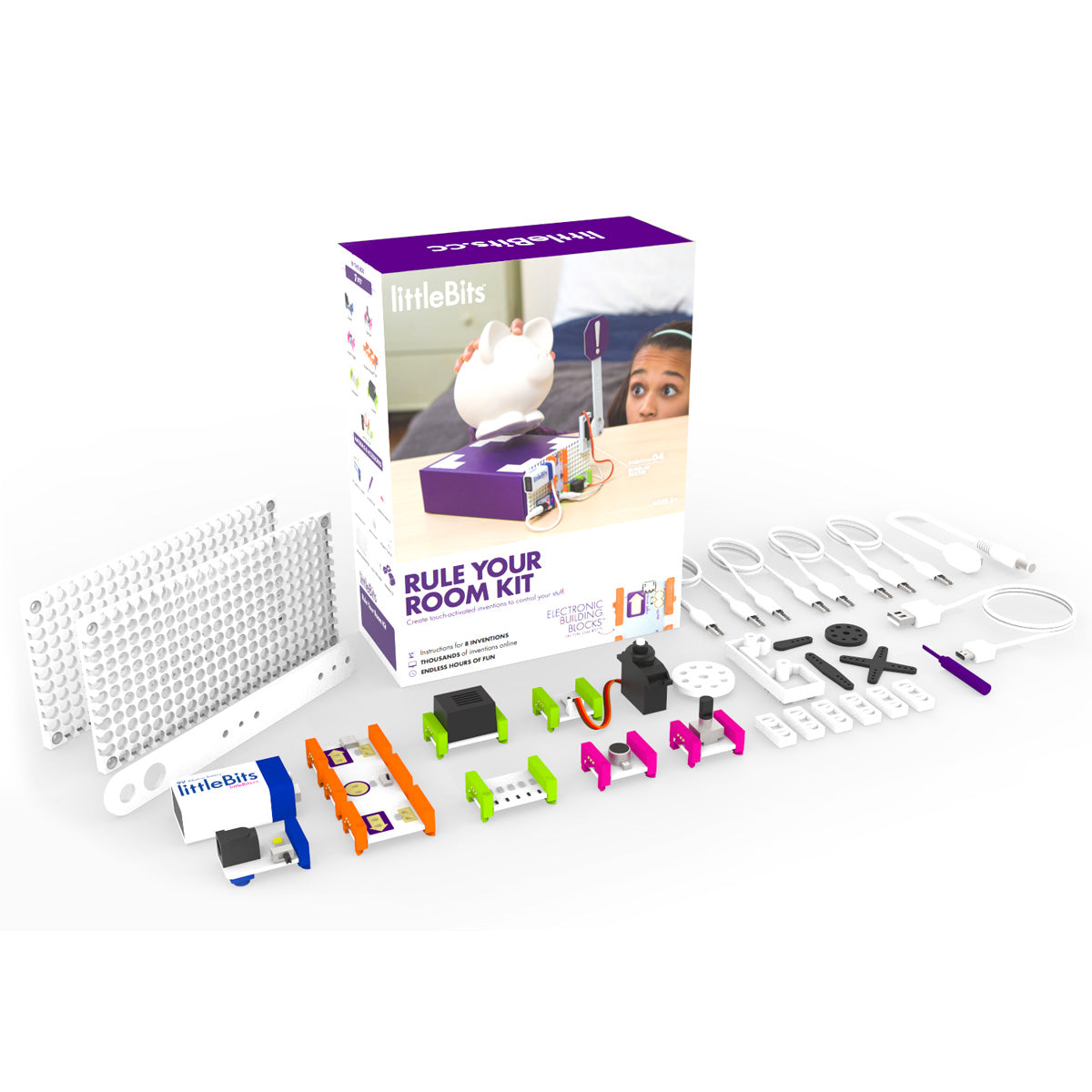 Littlebits Rule Your Room Kit Stem Supplies Circuit Scribe And Chibitronics Review No Reviews