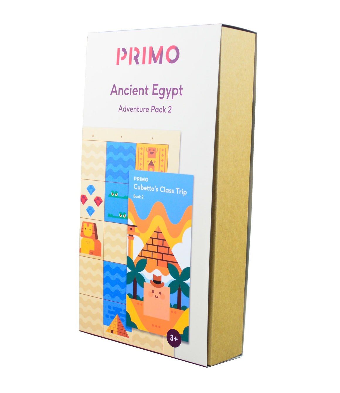 Primo Toys Adventure Pack Map & Story Book - Egypt