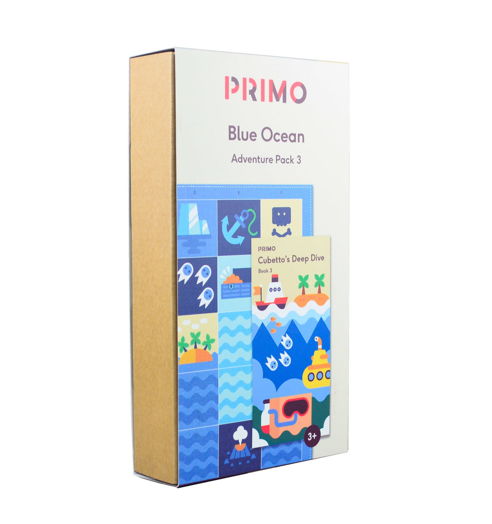 Primo Toys Adventure Pack Map & Story Book - Ocean