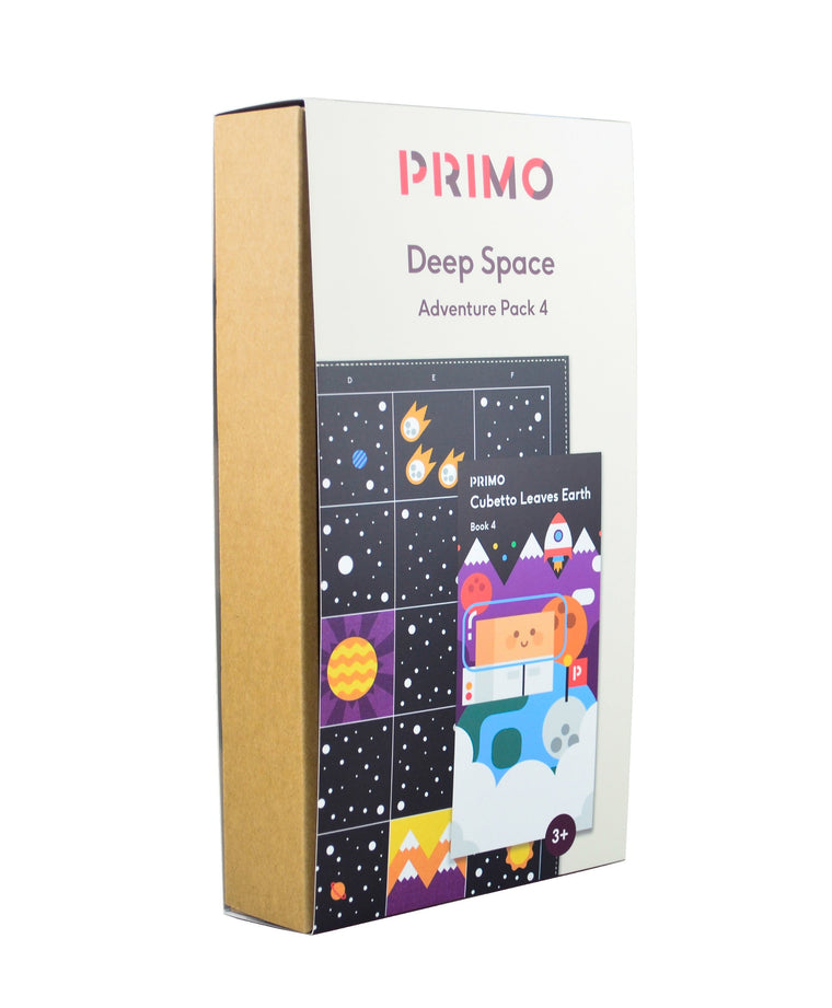 Primo Toys Adventure Pack Map & Story Book - Space