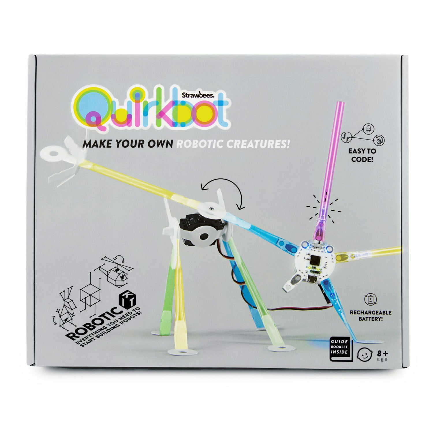Strawbees Quirkbot Robotic Creatures Stem Supplies Circuit Scribe And Chibitronics Review No Reviews