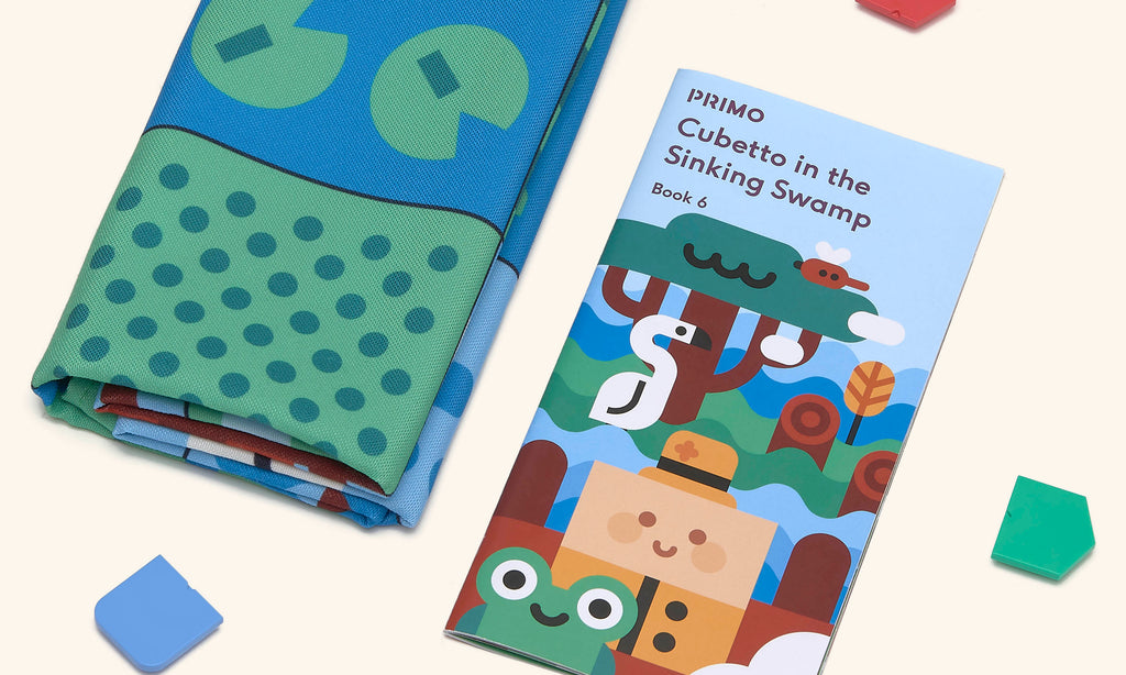 Primo Toys Adventure Pack Map & Story Book - Swamp