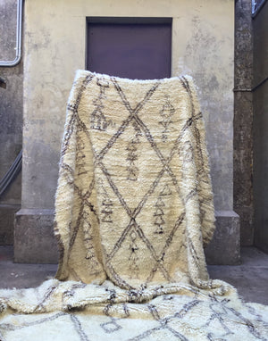 Prudence Beni Ourain Vintage Moroccan Rug